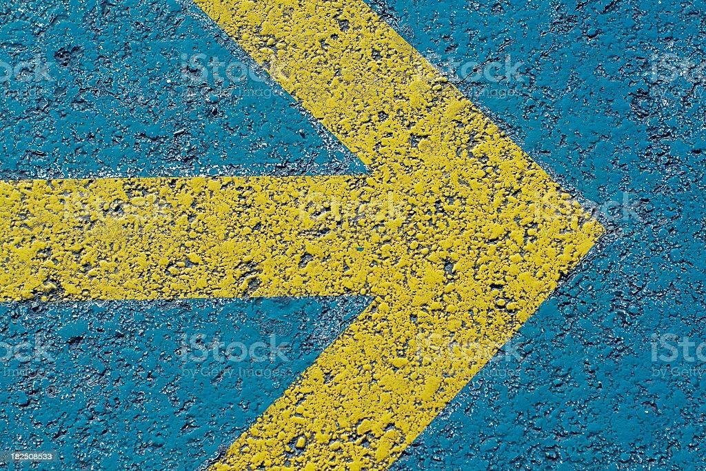 Direction Arrow stock photo