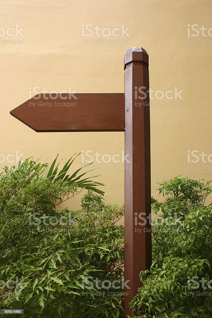 Direction Board royalty-free stock photo