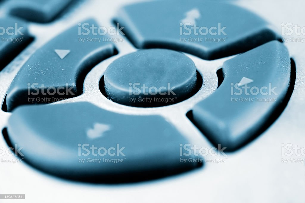 Direction buttons stock photo
