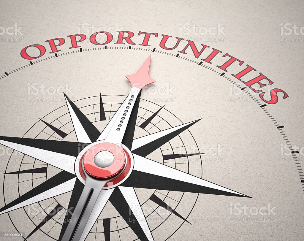 Direction of Opportunities stock photo
