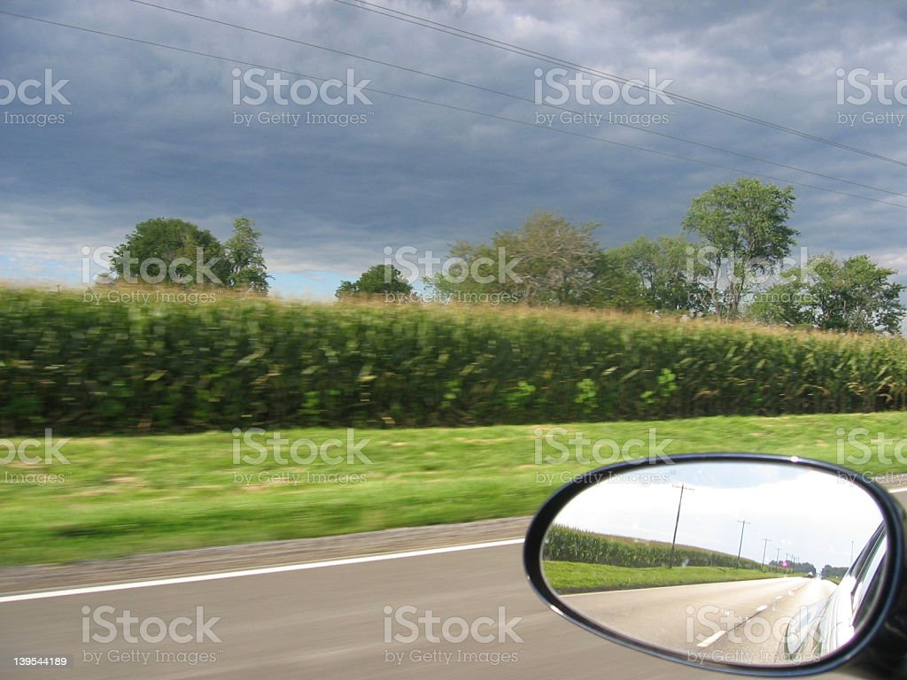 Direction Perspective royalty-free stock photo