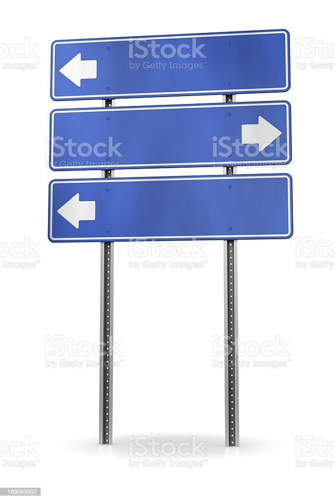 directional arrow sign royalty-free stock photo