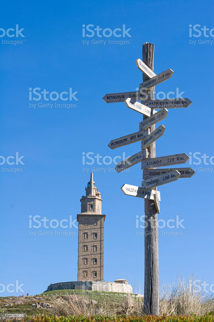 Directions royalty-free stock photo
