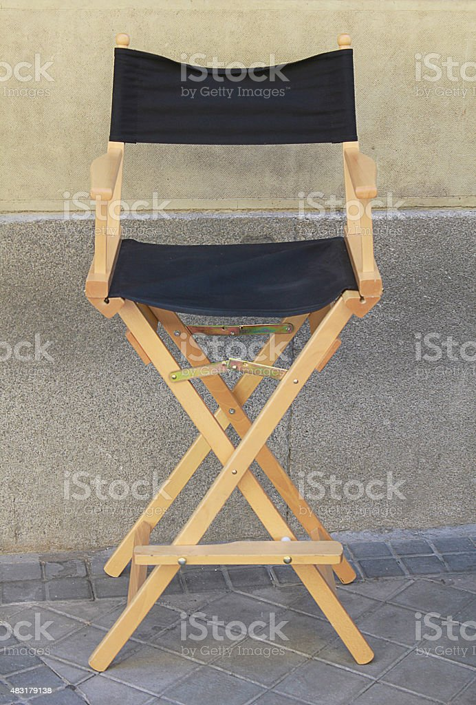 a director chair