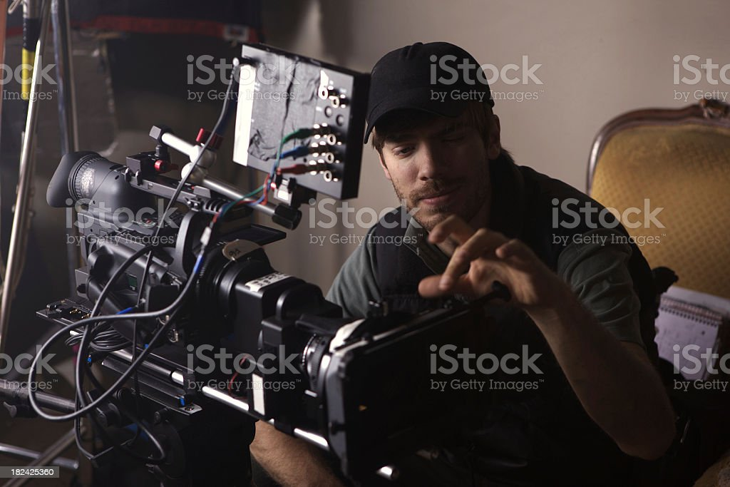 Director of Photography stock photo