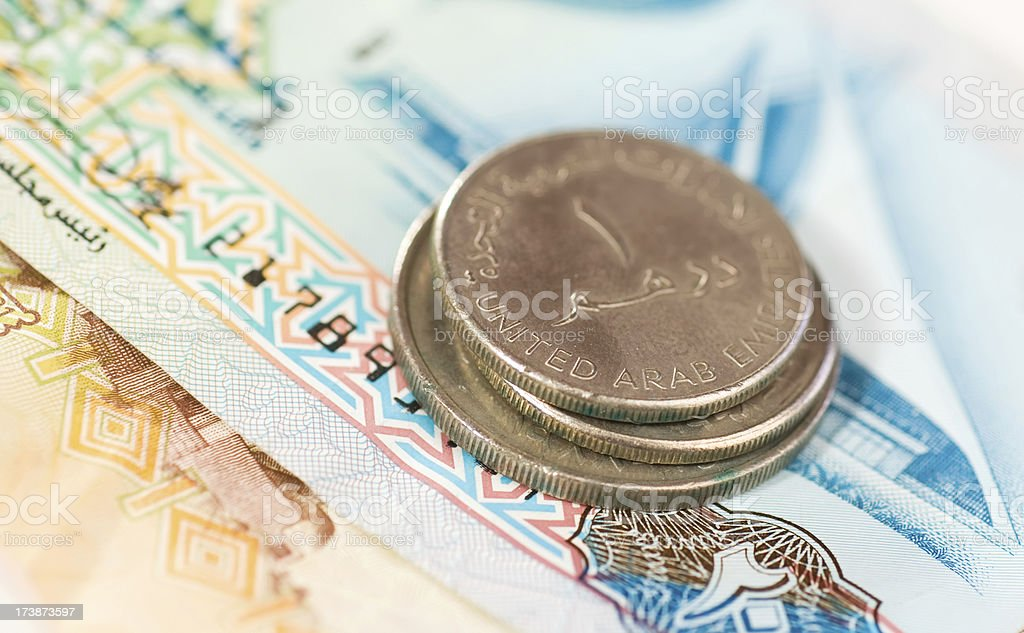 Dirhams royalty-free stock photo