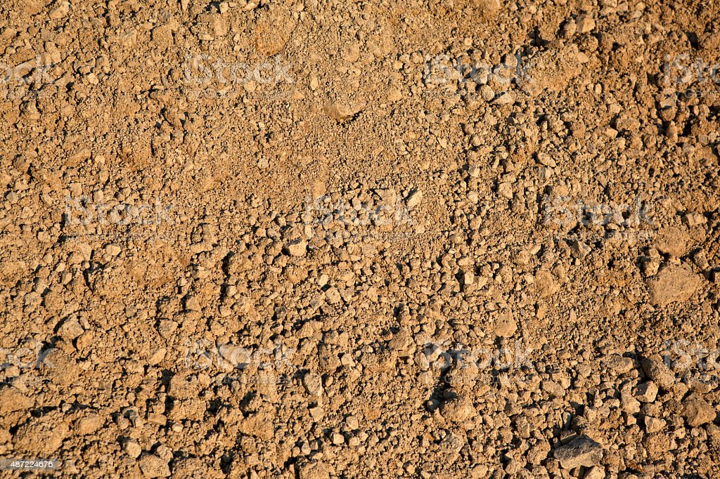 Dirt and Gravel stock photo