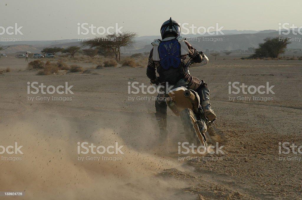 Dirt bike royalty-free stock photo