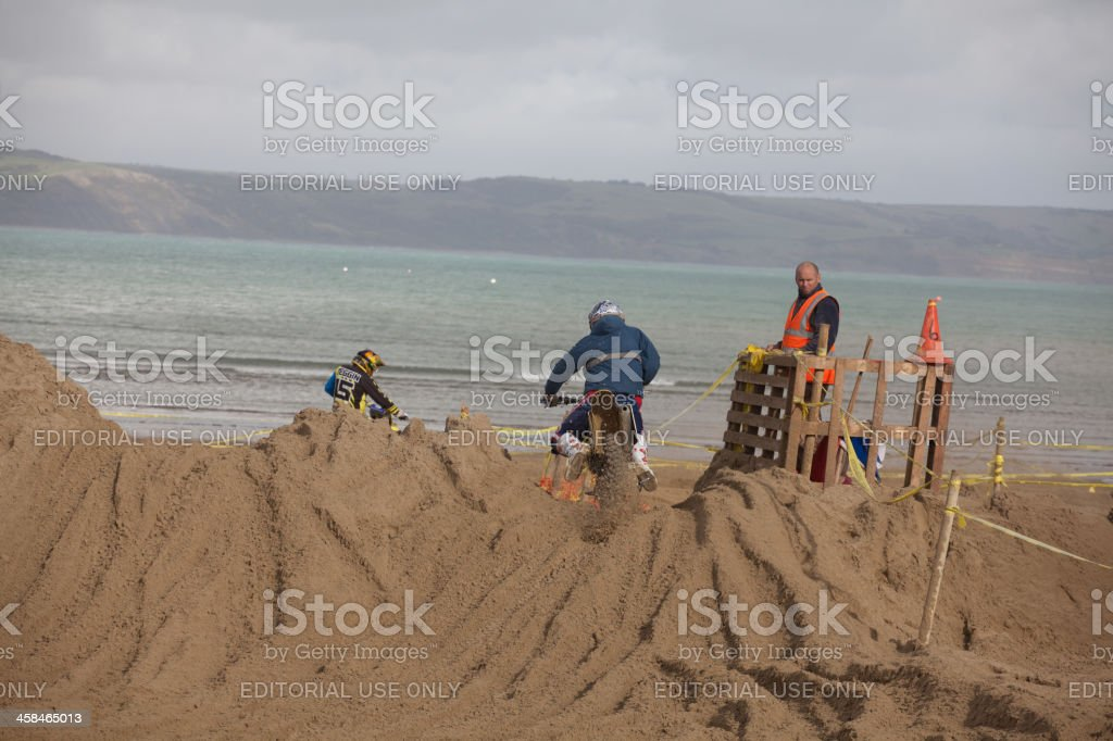 Dirt Bike Race On The Beach At Weymouth Stock Photo 458465013 Istock