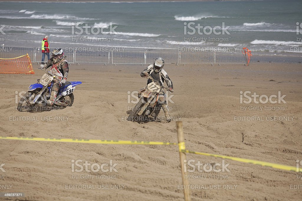 Dirt Bike Race On The Beach At Weymouth Stock Photo 459237371 Istock