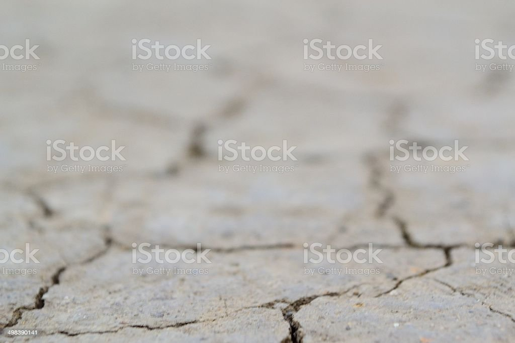 dirt crack stock photo