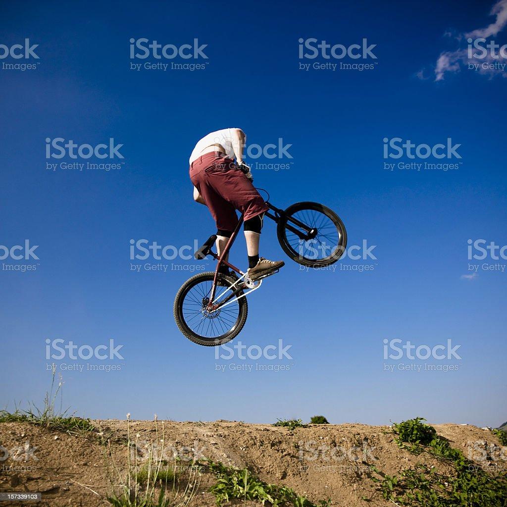 Dirt Jumping Mountain Bike royalty-free stock photo