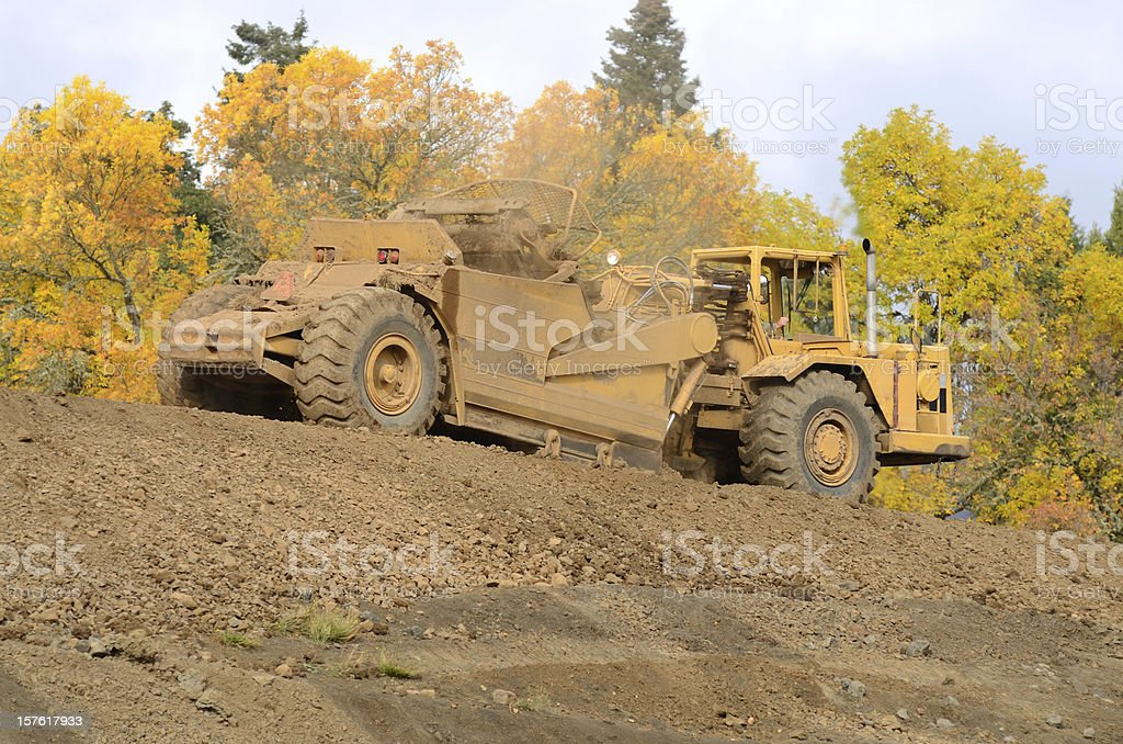 Dirt Movement royalty-free stock photo