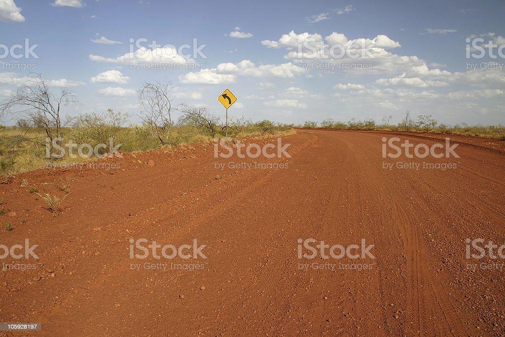Dirt Road royalty-free stock photo