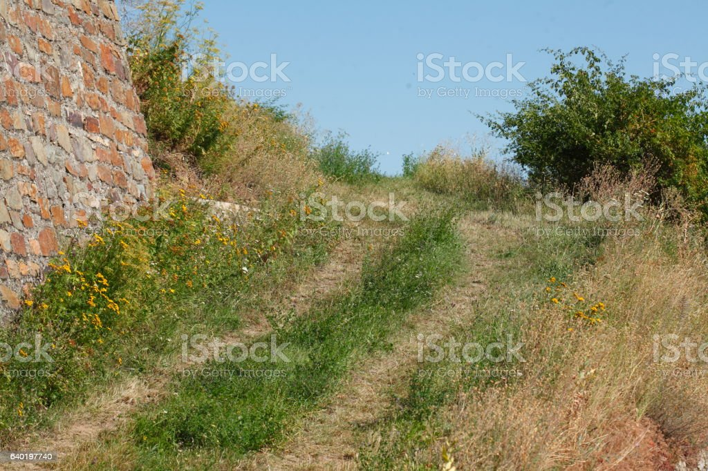 Feldweg stock photo