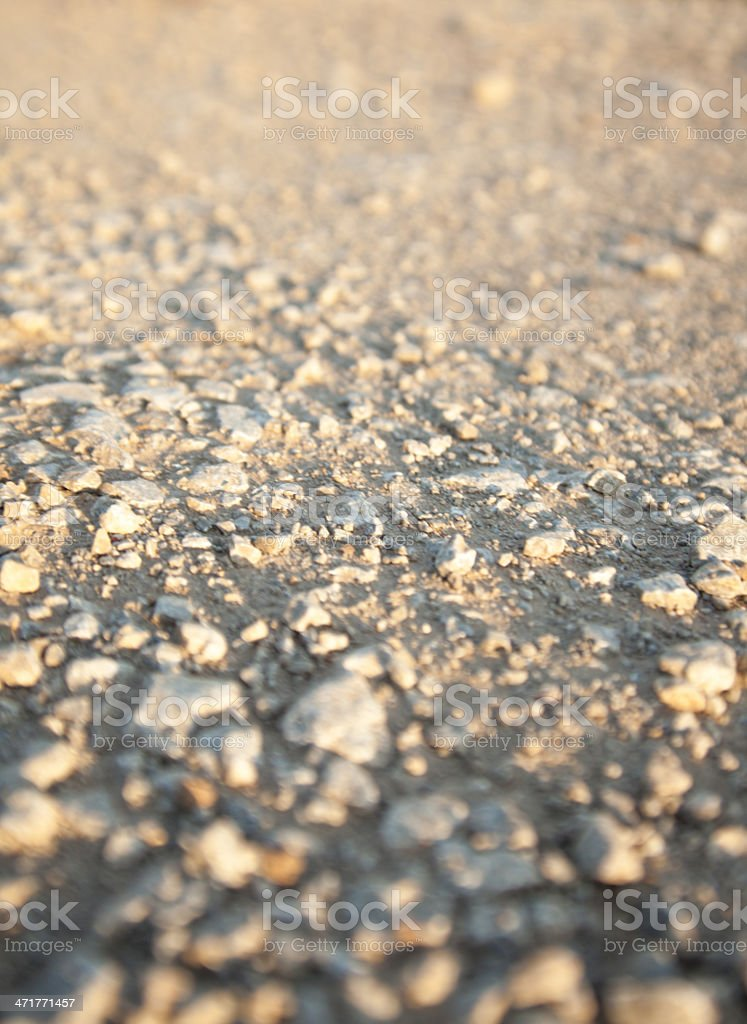 Dirt Road Texture royalty-free stock photo