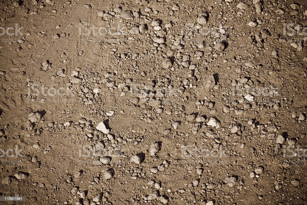 Dirt Road XL royalty-free stock photo