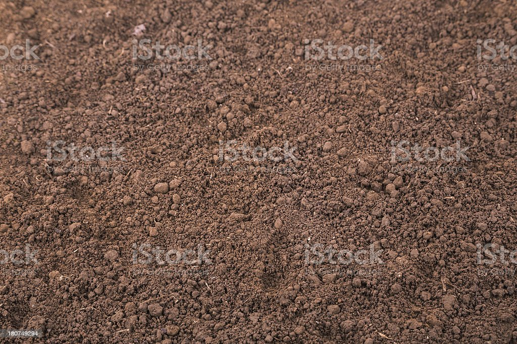 Dirt soil Background royalty-free stock photo