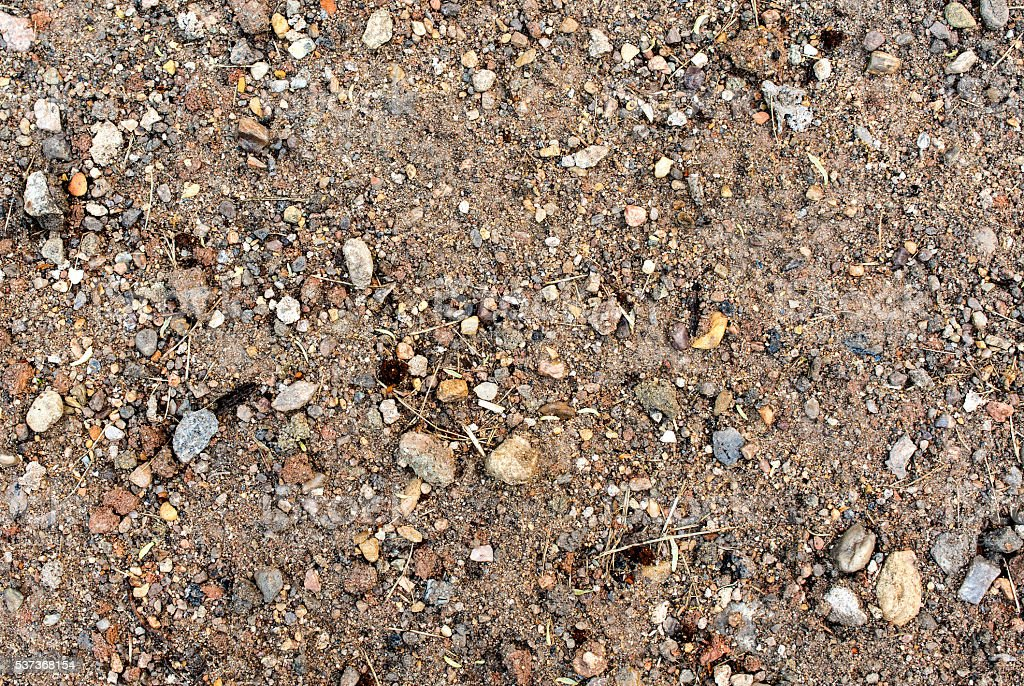 dirt surface with small stones 18 stock photo