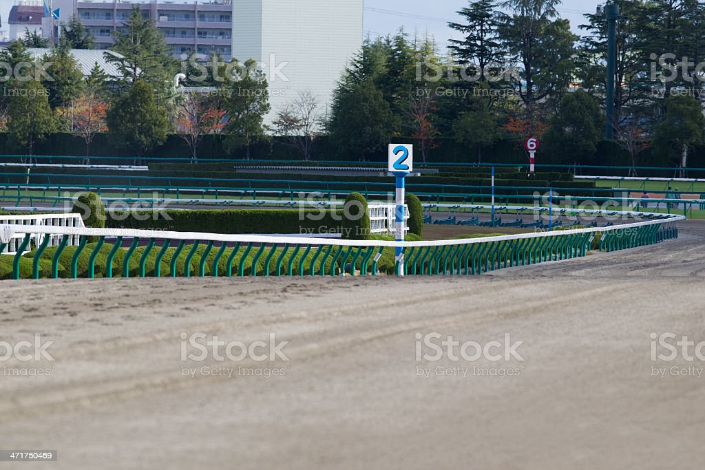 Dirt Track stock photo