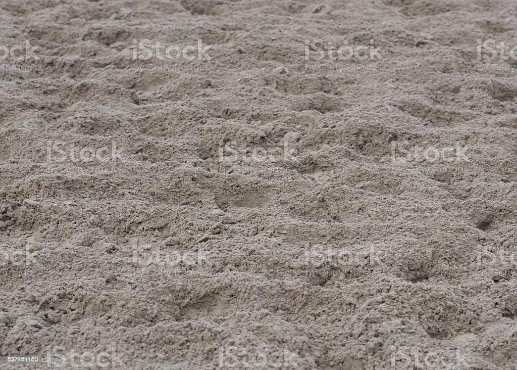 Dirt Track with Hoof Prints stock photo