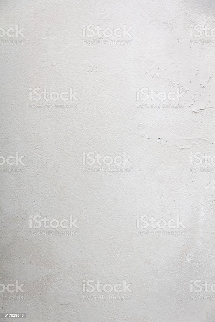 Dirty and swollen paint wall. stock photo