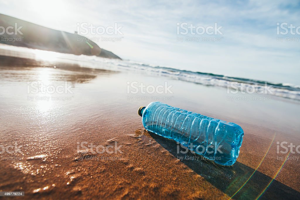 Dirty Beach stock photo