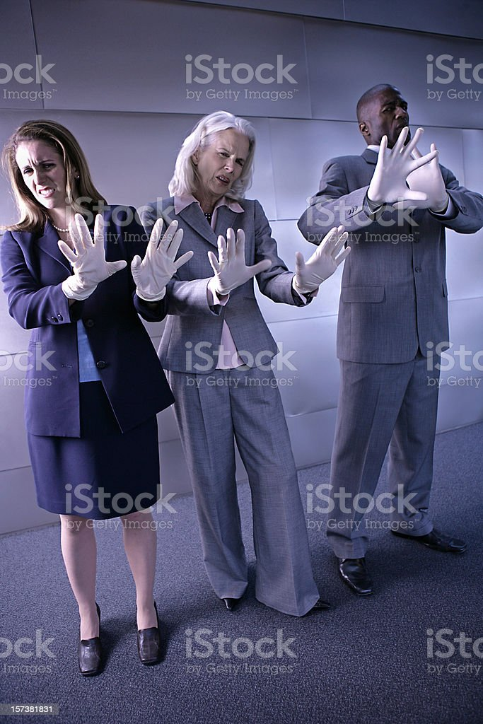 Dirty Business stock photo