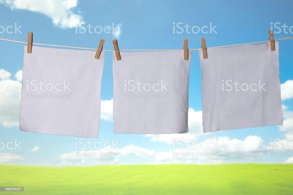 dirty cloth stock photo