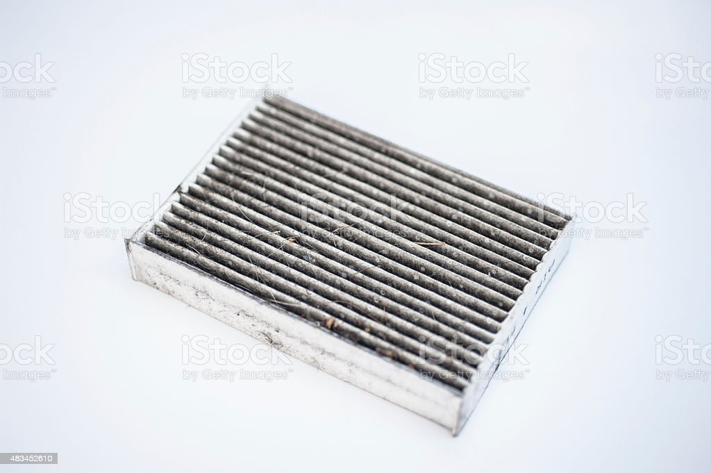 Dirty Filter stock photo