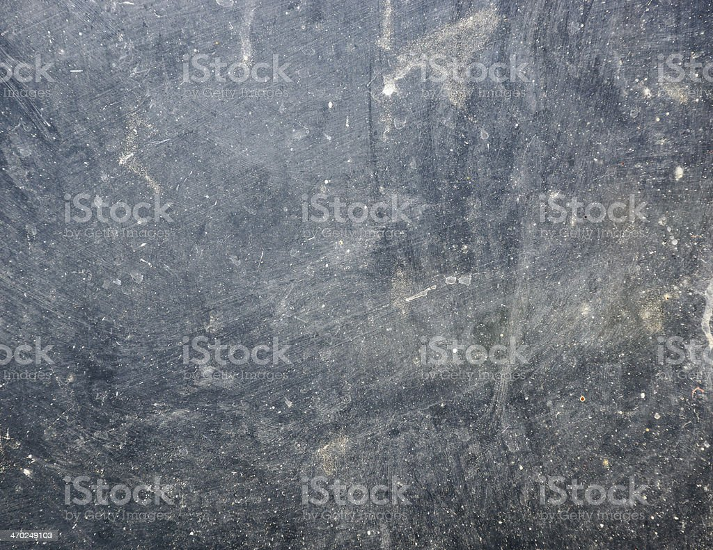 Dirty glass in the sun stock photo