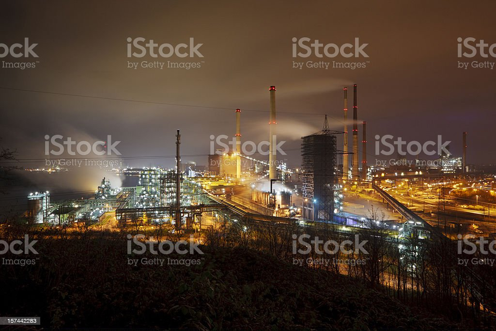 Dirty Industry royalty-free stock photo