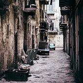 Dirty Italian Alleyway