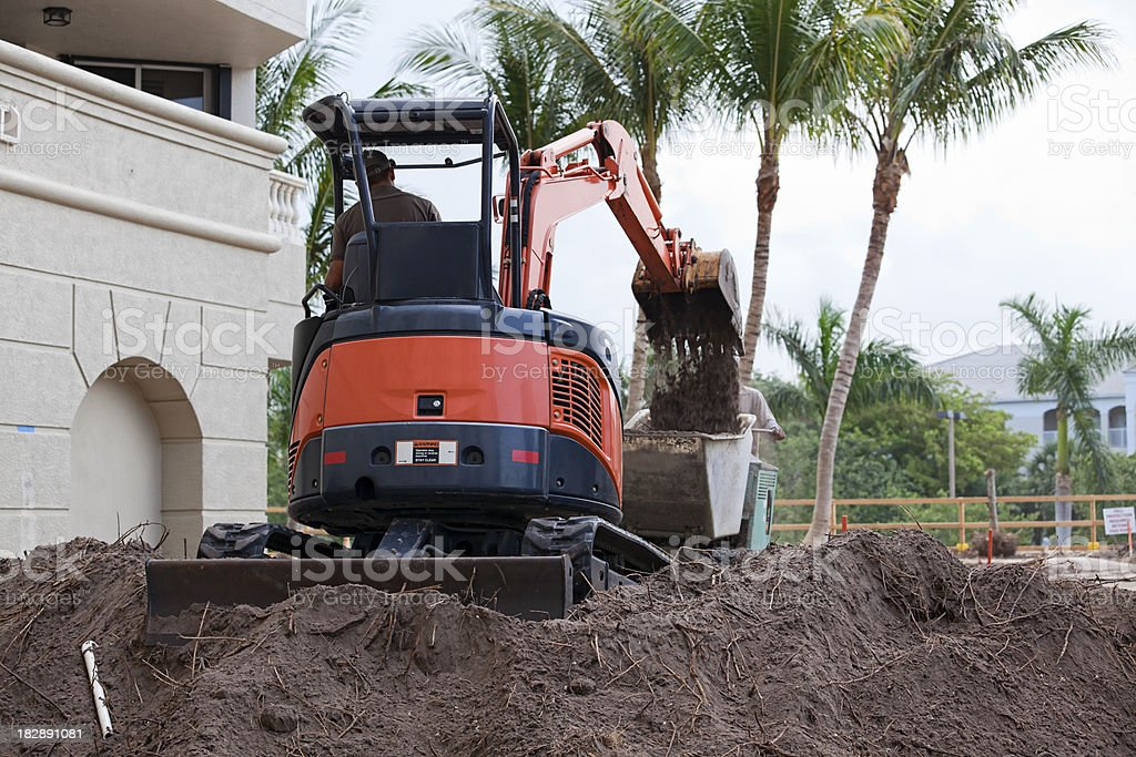 Dirty Jobs royalty-free stock photo
