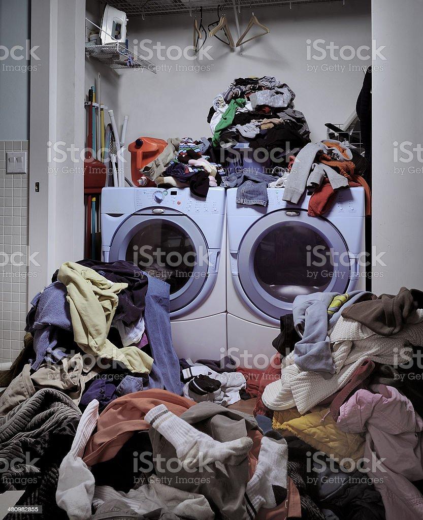 Dirty Laundry stock photo