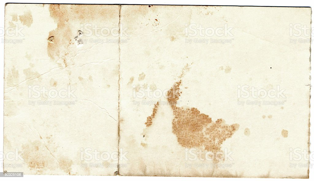 Dirty Paper stock photo