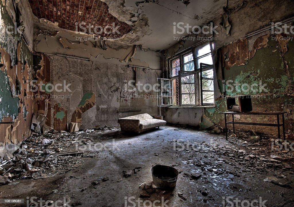Dirty Room stock photo