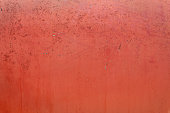 Dirty, Rusty, Red Painted Metal Background