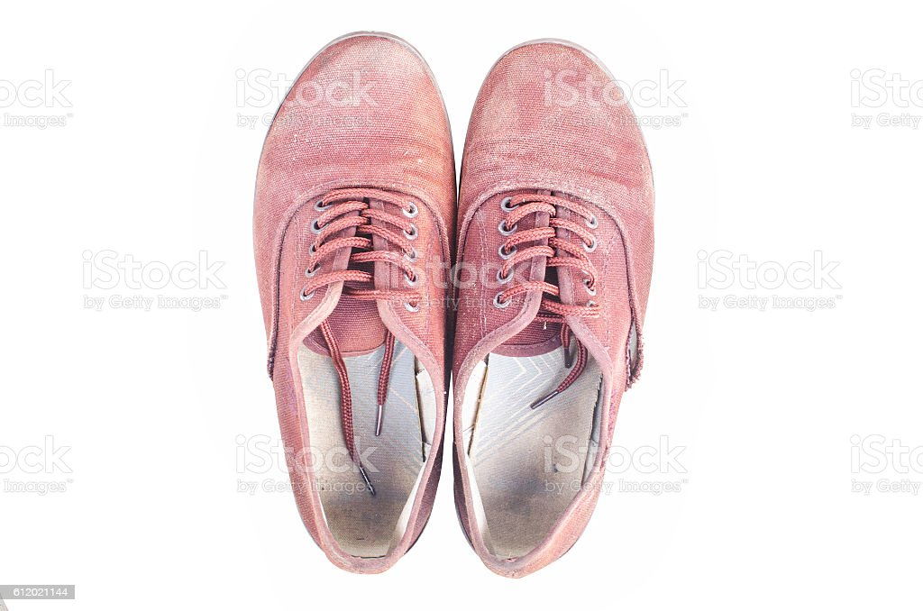 Dirty shoe backgrounds stock photo