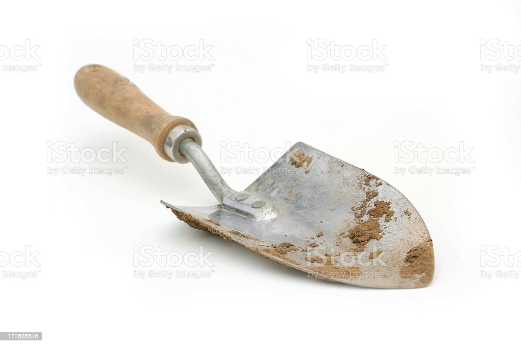 Dirty Spade (2) royalty-free stock photo