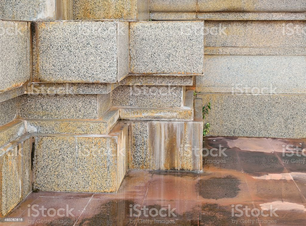 Dirty stains of marble structure and floor stock photo