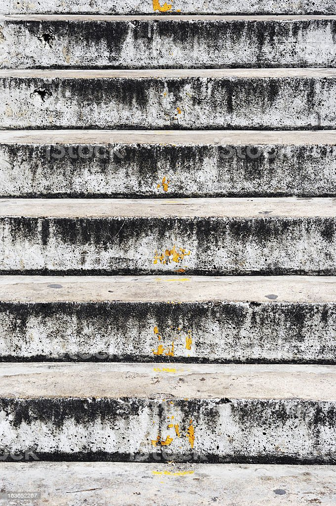 dirty stair royalty-free stock photo