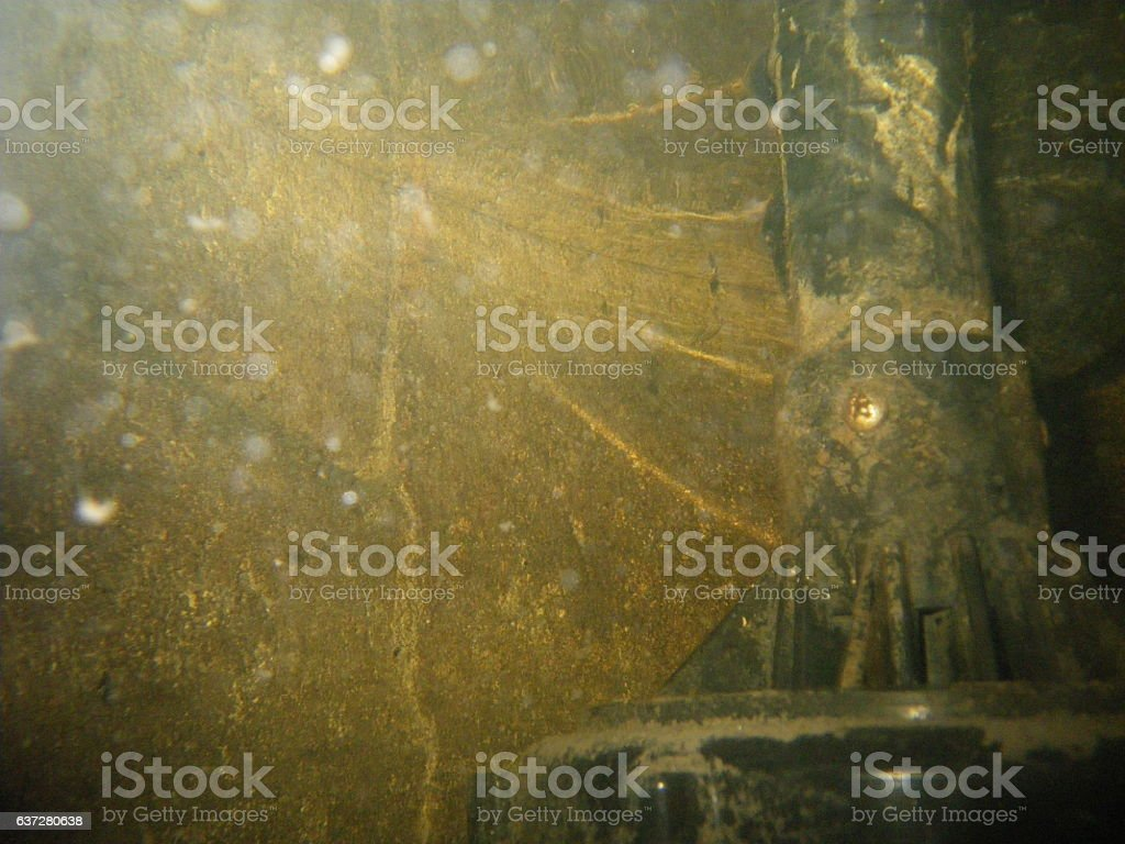 Dirty Sump Pump stock photo