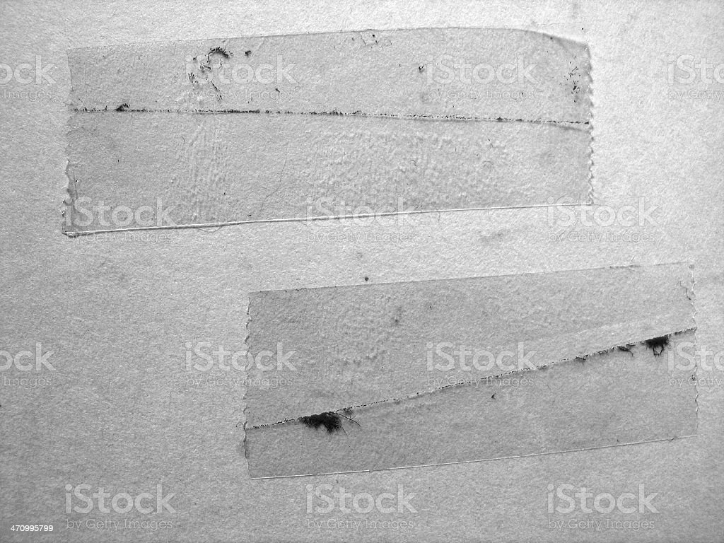 Dirty Tape royalty-free stock photo