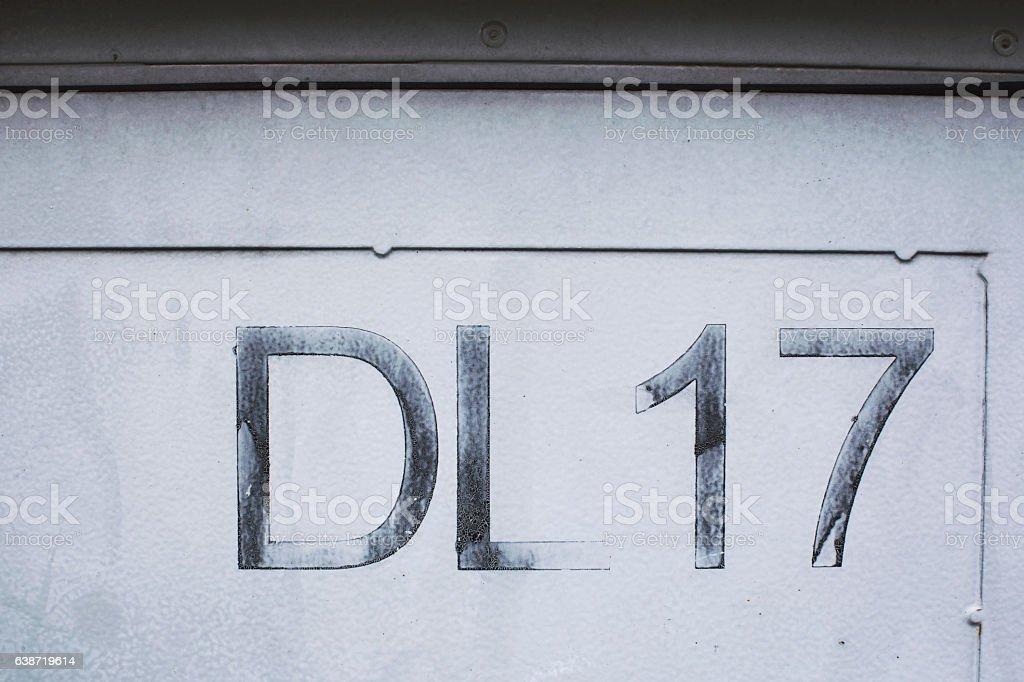 Dirty urban concrete background stock photo