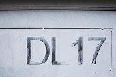 Dirty urban concrete background