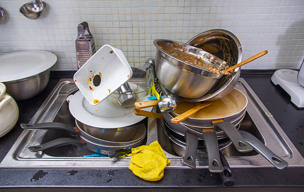 Dirty Kitchen Pictures, Images and Stock Photos - iStock