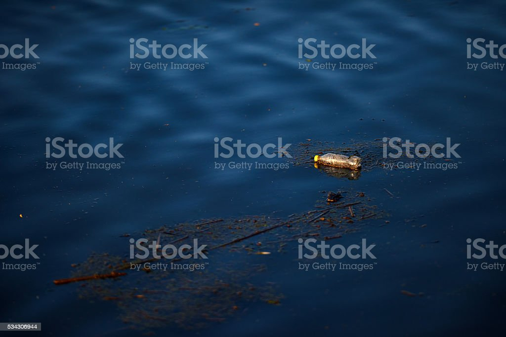 dirty water stock photo