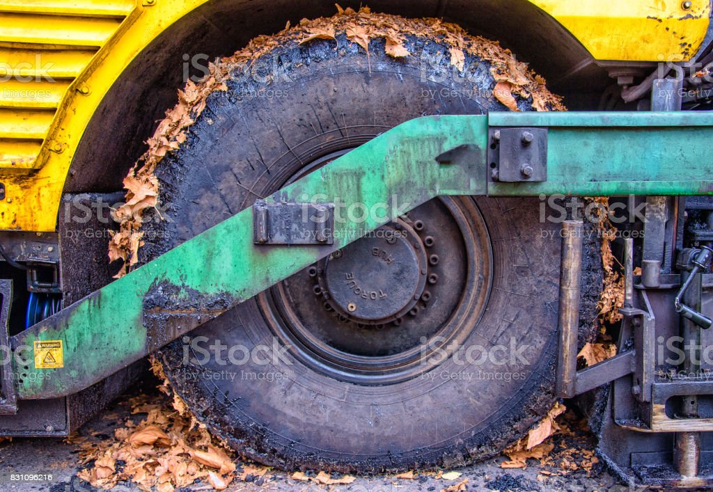 Dirty Wheel stock photo