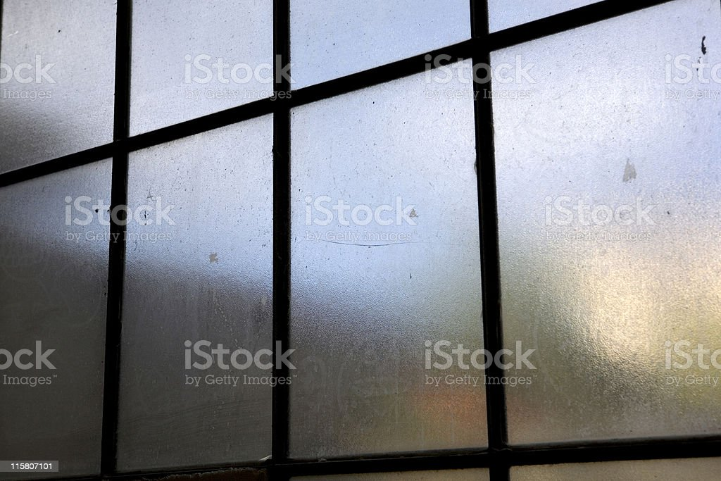 dirty window royalty-free stock photo